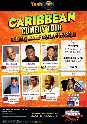 Caribbean Comedy Tour